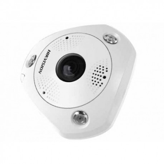 Picture of HIKVISION 12MP FISHEYE CAMERA, VANDAL RES
