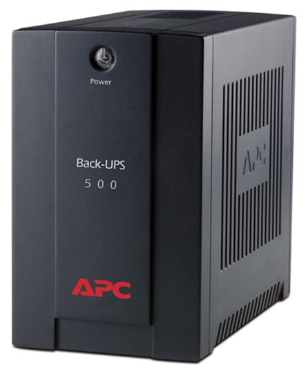 Picture of APC BACK-UPS 500VA,AVR, IEC OUTLETS, EU MEDIUM