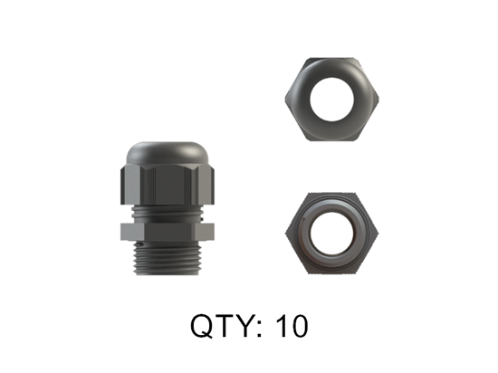 Picture of CABLE GLAND NYLON 20MM GREY IP68 SINGLES