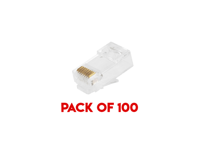 Picture of PACK 100 RJ45 CRIMPS