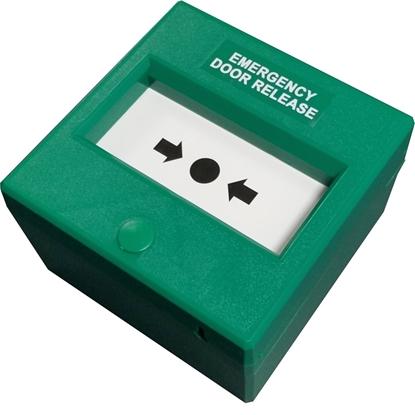 Picture of GREEN RESETABLE EMERGENCY DOOR RELEASE
