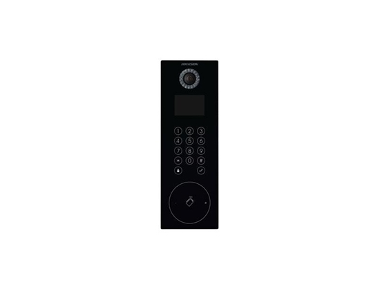 Picture of HIKVISION VIDEO INTERCOM KEYPAD BLK DOOR STATI