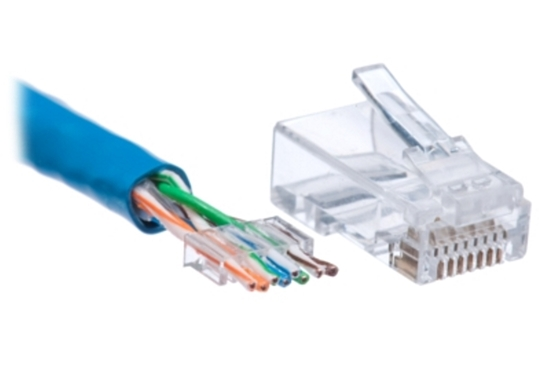 Picture of CAT6 CRIMP 50 PACK, 006-003-001-35