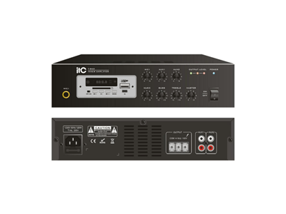 Picture of ITC 120W MIXER AMPLIFIER WITH MP3/TUNER/BLUETOOTH