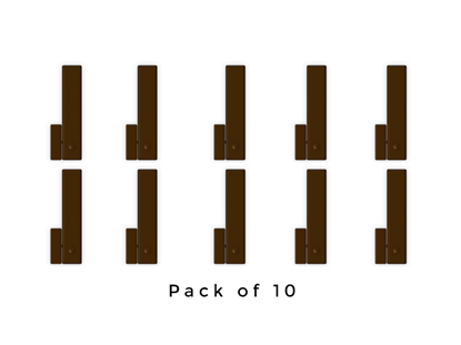 Picture of PACK OF 10 BROWN HOUSING FOR MC1/SHOCK