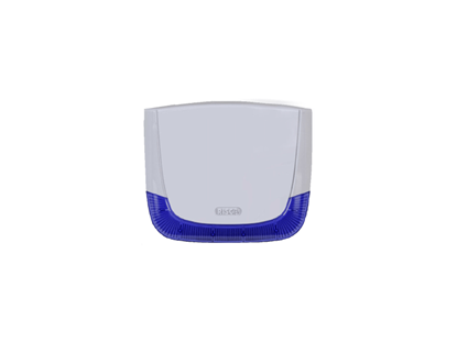 Picture of RISCO LUMIN8 WHITE COVER BLUE LENS, RS401CB