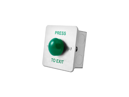 Picture of EXIT BUTTON - GREEN DOME FLUSH - PTE, DRB004F-PTE