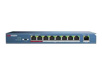Picture of HIK 8-PORT POE SWITCH, 1 UPLINK DS-3E0109P-E