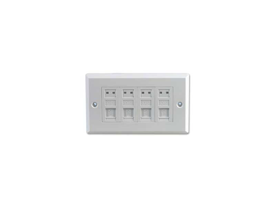 Picture of CAT 5 QUAD BACK BOX WALL OUTLET