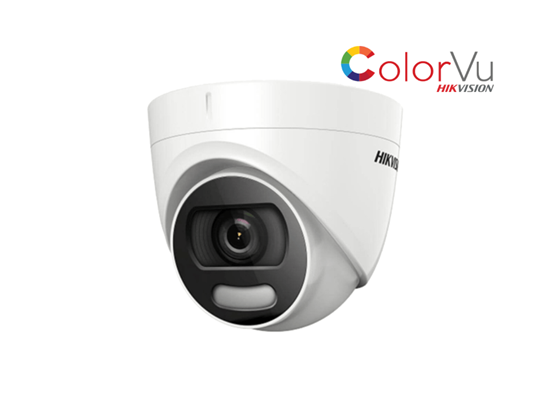 Picture of HIK 2 MP FULL TIME COLORVU TURRET DS-2CE72DFT-F