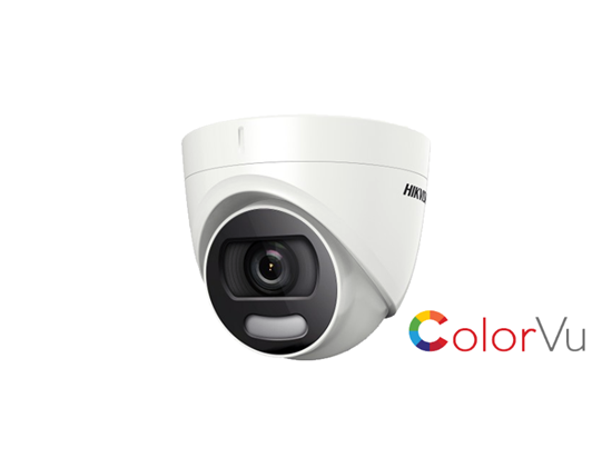 Picture of HIK 2MP TURBO COLORVU TURRET DS-2CE72HFT-F 2.8