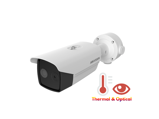 Picture of HIK THERMAL & OPTICAL IP BULLET DS-2TD2617-6/V1