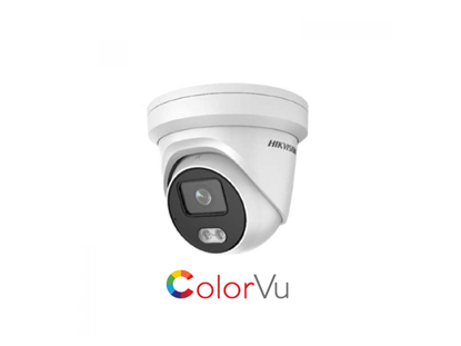 Picture of HIKVISION 4MP COLORVU IP TURRET 2.8MM