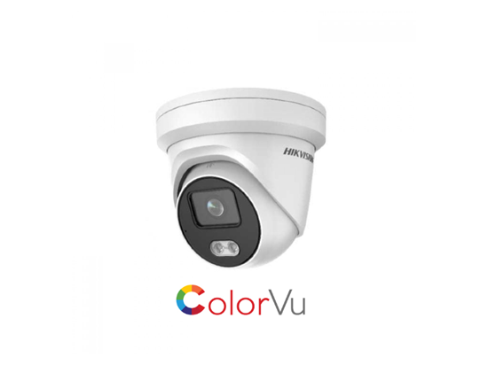 Picture of HIK 4 MP COLORVU IP TURRET 2.8MM LENSE