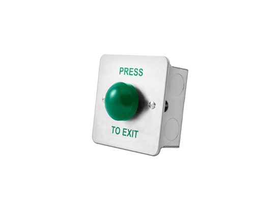 Picture of GREEN DOME FLUSH - PRESS TO EXIT, DRB004F-PTE