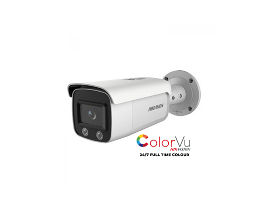 Picture of HIKVISION COLORVU IP 4MP BULLET DS-2CD2T47G1-L 4MM