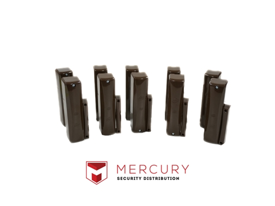 Picture of HKC WIRELESS 10 X BROWN RF COVERS HKC-RFP-CBR