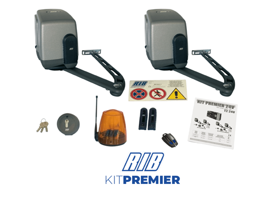 Picture of RIB KIT PREMIER OVERGROUND KIT 24V WITH T2 24V CRX