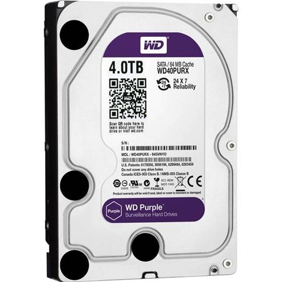 "Picture of WD 4TB 3.5"" SATA HDD PURPLE"
