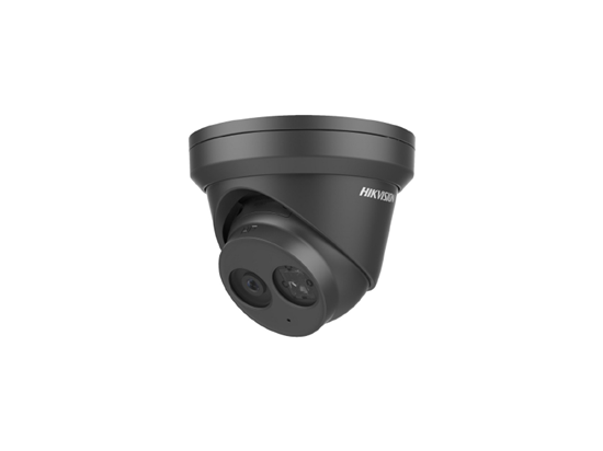 Picture of HIKVISION BLACK 4 MP IR FIXED TURRET NETWORK CAMER