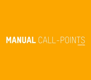 Picture for category Conventional MANUAL CALL POINTS