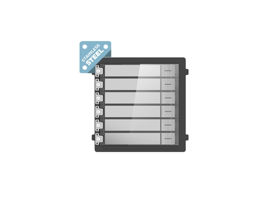 Picture of HIKVISION DS-KD-KP/S NAMETAG STAINLESS