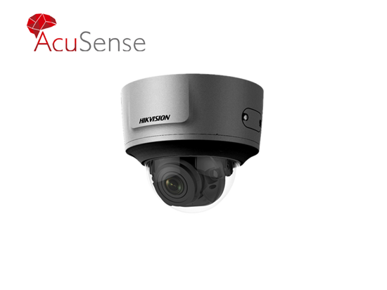 Picture of HIKVISION ACUSENSE 4MP IR VF 2.8-12MM DOME GREY