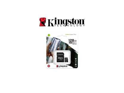 Picture of KINGSTON CANVAS SELECT PLUS 128 GB CLASS 10/UHS-I
