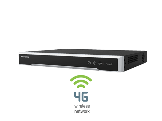 Picture of HIK 4CH POE NVR WITH 4G CONNECTIVITY