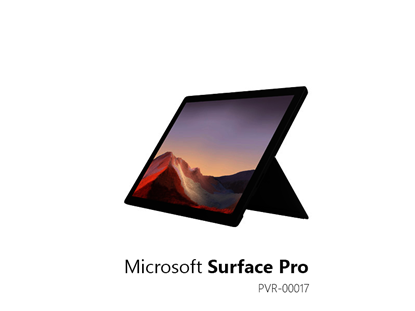 Picture of MS SURFACE PRO 7  I5/8/256 PRO BLACK