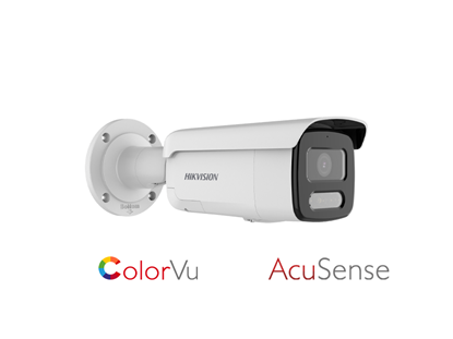 Picture of HIKVISION 4 MP COLORVU STROBE LIGHT/WARNING